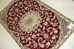 玄関マット通信販売ナインペルシャ絨毯赤55145、トップセールのペルシャ絨毯