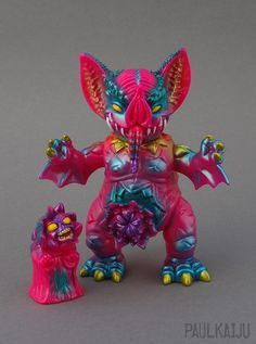 Sugar Cookie Mockbat and Hellmock by Paul Kaiju