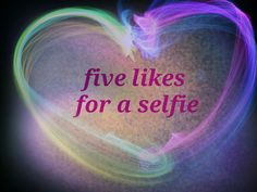 5 likes for a selfie :)
