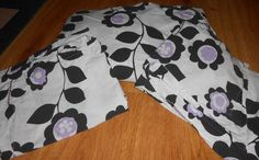 Pottery Barn Teen Full/Queen Duvet Cover Shams Set Nouveau Floral Organic Black  #PotteryBarnTeen