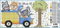 Cross Stitch For Kids, Cute Cross Stitch, Cross Stitch Charts, Cross Stitch Patterns, Brother Innovis, Safari, Leg Workout Women, Needlepoint Designs, Beading Patterns