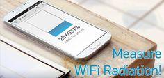WiFi Radiation Meter per Android - applicazione molto utile!
