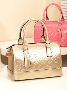 bag - http://zzkko.com/n198022-rown-Kanaya-handbag-bag-pillow-bag-Korean-version-of-the-candy-colored-patent-leather-embossed-golden-sweet-retro-trade.html $28.84