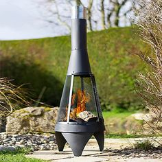 La Hacienda Extra-large steel Colorado chimenea | Debenhams