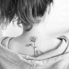 Back Rose tattoo
