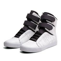 SUPRA SOCIETY | WHITE / BLACK - WHITE | Official SUPRA Footwear Site
