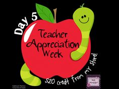 Win a $20 gift card from my store!  Good luck teachers :)