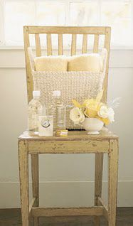 Guest Room- tips for hosting guests--water,flowers,towels, on a chair is a cute idea!