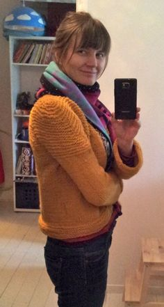 #DIY Knitted sweater from 100% wool