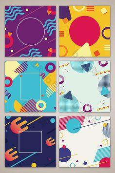 ideas geometric art poster illustrations for 2019 Banner Design, Layout Design, Web Design, Logo Design, Graphic Design Posters, Graphic Design Inspiration, Flat Design Poster, Kids Graphic Design, Design Ideas