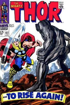 Lot Detail - 1968 The Mighty Thor Marvel Comics (Featuring Jack Kirby and Vincent Colletta Cover/Art; Thor Comic Book, Comic Book Artists, Comic Book Covers, Comic Book Characters, Comic Book Heroes, Comic Books Art, Comic Art, Marvel Characters, Marvel Comics Superheroes
