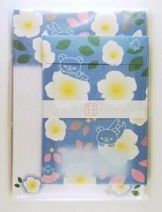 San-X Rilakkuma Letter Set - Blue - From Carla