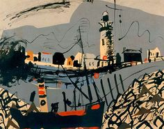 Two key pieces by British artist John Piper have been bought for contemporary art museum Towner in Eastbourne… Landscape Art, Landscape Paintings, John Piper Artist, Art Fund, Newhaven, First Art, Artist At Work, Painting Inspiration, Art Inspo