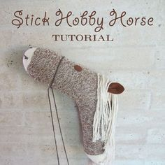 One of my fabulous customers, Brenda, created the most wonderful stick hobby horses for her son's country-western party! They're made from red heeled socks, the same socks used for sock monkeys – that's why they might look a little familiar to you sock monkey fans. ...