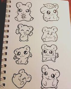Afbeeldingsresultaat voor hamster tekenen stap voor stap