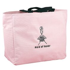 Pink Tote Bag - Maid of Honor ** Click on the image for additional details.
