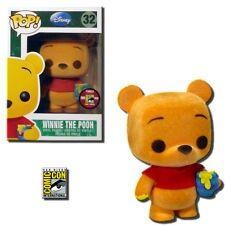 Winnie the Pooh - Flocked - Comic Con Exclusive - Funko Pop! Vinyl Figure