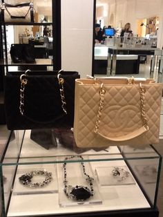 Chanel Grand Shopping Totes