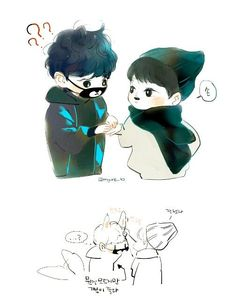 Image result for chansoo cute fanart