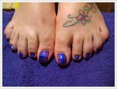 Cute Toe Nail Art Designs 2014
