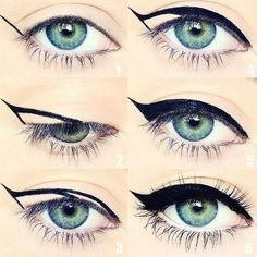 How To: Winged Eyeliner: