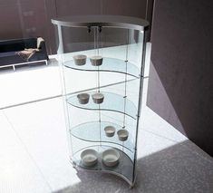 modern curio cabinets glass | Contemporary Curio Cabinets...Love this
