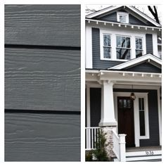 Sherwin Williams Grizzle Gray. Exterior House PaintsHouse ...