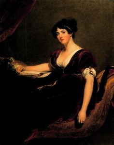 Portrait of Mrs. Isaac Cuthbert. Sir Thomas Lawrence (English, 1769-1830). Louvre, Paris, France.