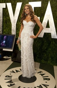Sofia Vergara at Vanity Fair's Oscars Viewing Party