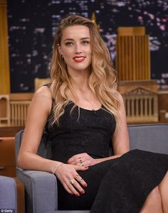 Dreamy: The Drive Angry actress looked fantastic as she made an appearance on The Tonight ...