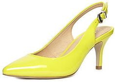 Womens acid yellow  from Dorothy Perkins - £30 at ClothingByColour.com