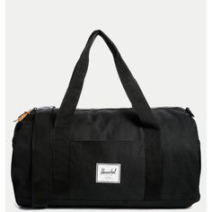 NWOT Hershel Sutton Duffle Bag This canvas signature Hershel bag is brand new and has never been used. The bag is unisex (inside liner is red and white tiny stripes) and would make an amazing holiday gift. Hershel Bags Travel Bags