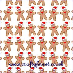 Free printable gingerbread man Christmas craft backing paper from www.craftyferret.co.uk Printable Scrapbook Paper, Printable Paper, Christmas Patterns, Christmas Crafts, Christmas Background, Paper Beads, Gingerbread Man, Xmas Ideas, Christmas Printables