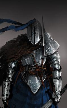 Concept Knight , Ben Yoj on ArtStation at https://www.artstation.com/artwork/59O0P