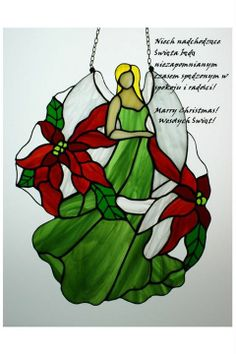Christmas angel by Elżbieta Altevogt. Note: She has various other angel and flower combinations on her FB page under Photos.  .