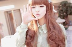 ✮ pretty asian girl ~ ulzzang ~ wink ~ sunlight ~ cute ~ kawaii ~ beautiful girl ✮
