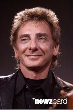 Barry Manilow at a press conference discussing his upcoming performance on the Pregame Show for Super Bowl XXXVI in New Orleans, LA., on Sunday February 3, 2002. (Photo by Frank Micelotta/ImageDirect)