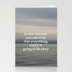everything will be okay cards