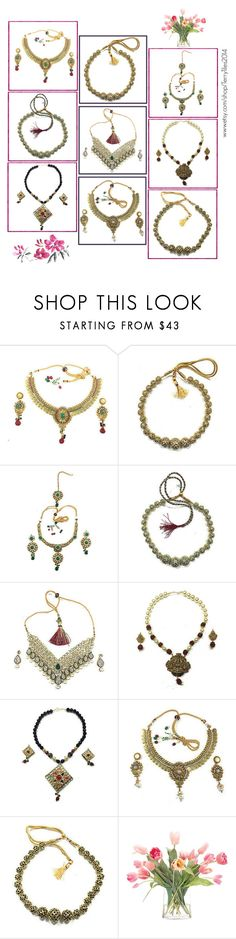 Indian Jewelry For Women's by baydeals on Polyvore featuring NDI  http://stores.ebay.com/mogulgallery/WOMENS-JEWELRY-/_i.html?_fsub=685596419&_sid=3781319&_trksid=p4634.c0.m322