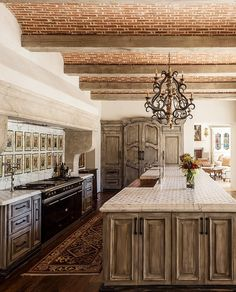 Kitchen in a home in Sunnybrook, CA designed by Stocker Hoesterey Montenegro Architects