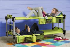 This collapsible bunk bed. | 24 Products That Will Take Your Summer To The Next Level