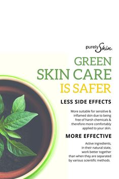 Making the case for going green with skin care #RosaceaHelp,TipsandAdvice