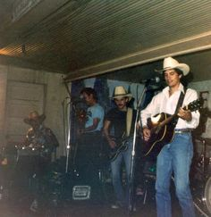 George and Ace In the Hole Band, early '80s.