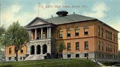 Kenton High School #2 (Frank Ellis Building) East Columbus Street @ High Street Kenton, Ohio Built: 1896 Demolished: 1967 *Gone*