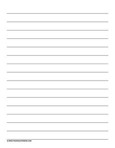 Vertical Spalding-Inspired Lined Paper