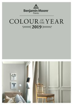 Cottage Home Interior Benjamin Moore 2019 Color of the Year / My living room color / Home Decor / Paint Colors / Aura Paint / Affinity Colors House Colors, Room Colors, Paint Colors For Living Room, Interior, Living Room Color, Room Paint Colors, Room Paint, Home Decor, Room Interior