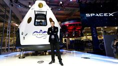 SpaceX received first order for crewed mission from NASA – Sunnyvale Tech Time - Albany Daily Star Gazette Jose Fernandez, Daft Punk, Elon Musk, David Wallace, Global Warming Climate Change, Spacex Falcon 9, Mission To Mars, Travel, Space Shuttle