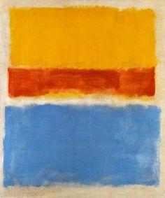 Mark Rothko, Untitled (Red, Yellow, Blue), 1953