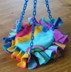 No Sew Trampoline - Suz' Sugar Gliders