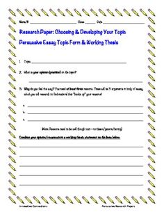 Worksheet Thesis Statement Worksheet the ojays and thesis statement on pinterest free a persuasive essay research paper topic form for developing constructing working i use this with my grade